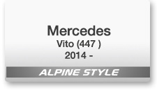 Alpine Style for Mercedes Vito (V447) 2014 -