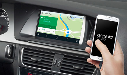 Online Navigation with Android Auto - X702D-A4