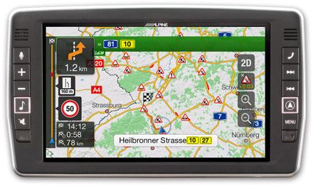 Mercedes Vito - Navigation - Plan Your Route  - X902D-V447