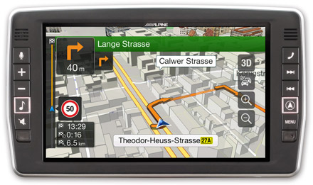 Mercedes Vito - Navigation - 3D Maps  - X903D-V447