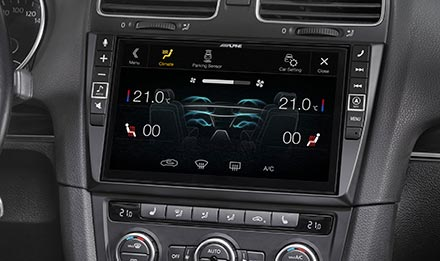 Golf 6 - Air Condition Display - X902D-G6
