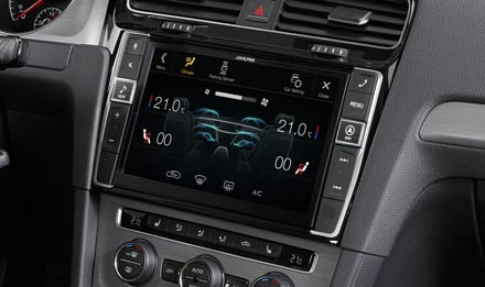 The Interface APF-X310MIB retains visual representation of Air Condition Display